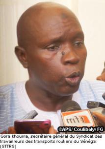 [Audio] Sit-in du syndicat des transporteurs routiers du Sénégal contre les nouvelles conditions prévues sur les permis de conduire