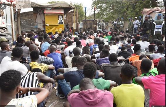 Patrouille de la gendarmerie à Dakar: 873 personnes interpellées