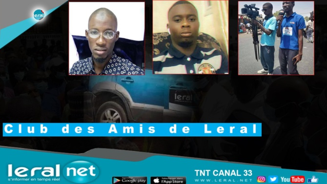 Condoléances: Le Club des Amis de Leral a remis 07 millions FCfa par victime et 03 millions par blessé