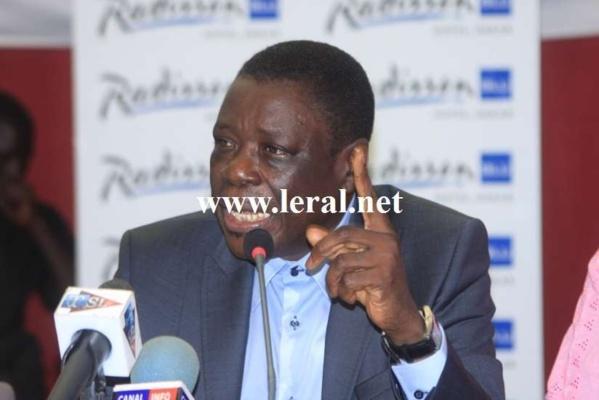 """Entretien avec Me Ousmane Sèye: """"Il n'est pas question que la CNRI nous plaque les conclusions des Assises nationales"""""""