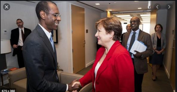 FMI/ Macky Sall: « Ce plébiscite du dossier du Sénégal, traduit la bonne tenue des finances publiques et... »