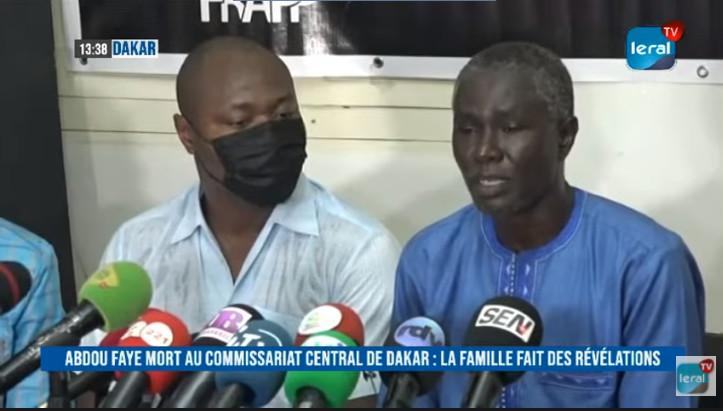 [REPLAY- LERAL TV]  Affaire Boy Djinné, Abdou Faye décédé au Commissariat central de Dakar: La famille fait des révélations