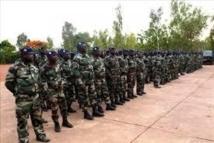 [Audio] Minusma: Le commissaire Abdoulaye Niang remet le drapeau au 1er contingent