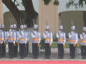 Cérémonie de sortie de la 31è promotion de l'Ecole nationale des Officiers d'Active de Thiès (ENOA)