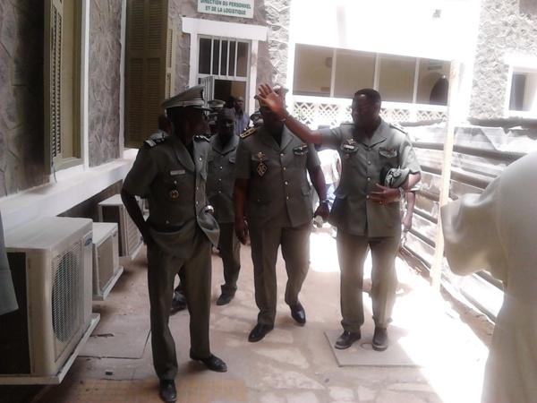 [Photos] Bloc des Madeleines: Le Directeur général des Douanes visite le chantier des nouveaux locaux