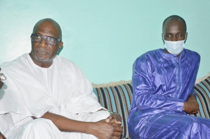 Visite: Amadou Bâ et Babacar Ngom Sedima présentent leurs condoléances à Dame Dieng