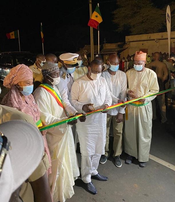Macky Sall au Nord du Sénégal : les premières images d'une tournée économique