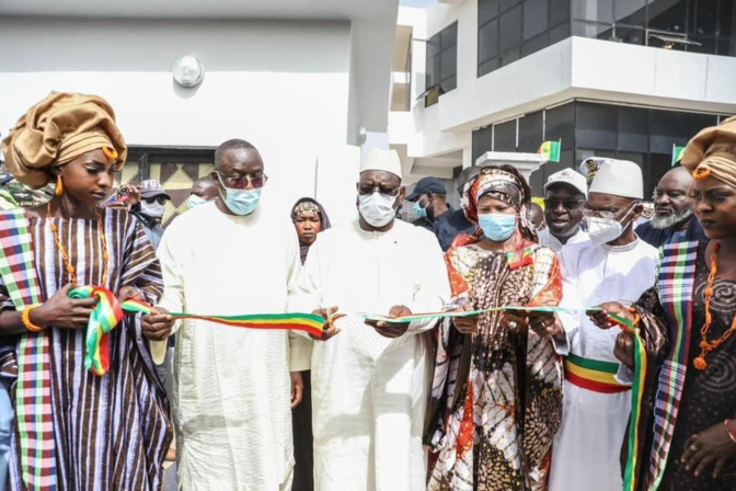 Espace numérique ouvert (ENO): Macky Sall a inauguré cette infrastructure de 800 millions F CFA