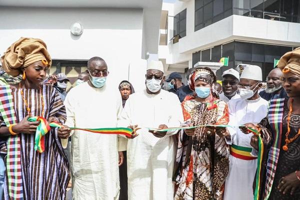 NTIC : l'Espace numérique ouvert (ENO) de Podor inauguré par le Chef de l'Etat Macky Sall