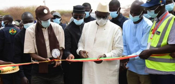 Inauguration de la route Carrefour Rn2-Médina Ndiathbé-Cas Cas-Saldé-Pété: Macky Sall désenclave l'île à Morphil