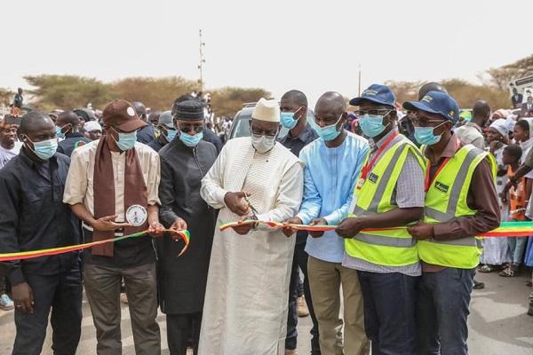 Réhabilitation de la RN2 Ndioum-Ourossogui –Bakel : Le président Macky Sall a procédé au lancement travaux