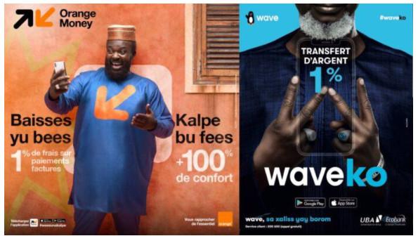 Contentieux opposant Wave à Orange Money: La Commission de concurrence de l'Uemoa hérite du dossier
