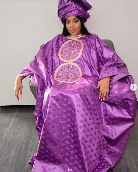 Admirez les magnifiques tenues de l'actrice Betty Dia (Photos)