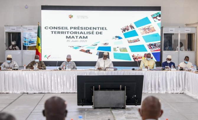 Conseil présidentiel territorialisé de Matam: Près de 249 milliards de FCfa investis dans ladite région par l'Etat