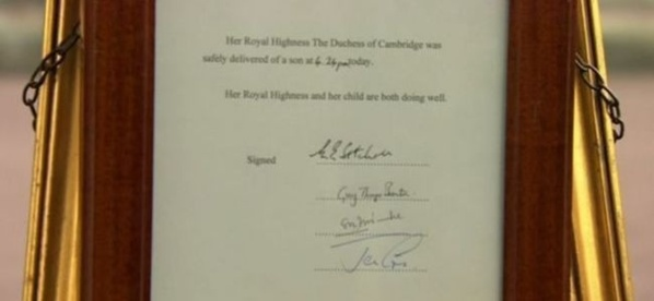 EN DIRECT. Grande-Bretagne : Kate Middleton a donné naissance à un garçon