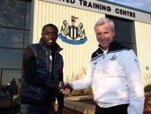 Papiss Demba Cissé reprend l'entraînement avec Newcastle, vendredi