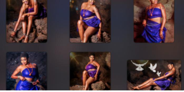 La chanteuse Lady Mounass ultra sexy pour son nouveau shooting (Photos)
