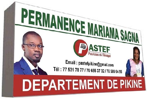 """Intimidations, menaces, convocations à la Gendarmerie: Pastef Pikine dit """"stop"""" et opte pour la loi du Talion"""