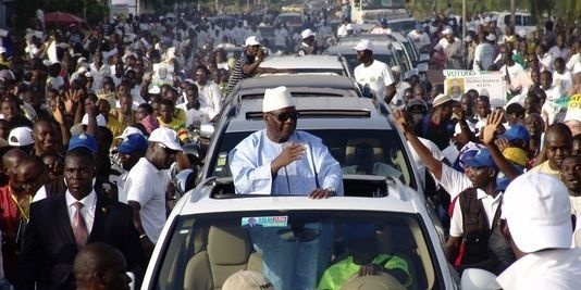 Présidentielle au Mali : Ibrahim Boubacar Keita en tête