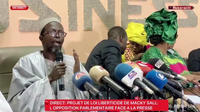 Projets de loi: Cheikh Abdou Bara Dolly dit avoir transmis les documents à Ousmane Sonko, depuis mercredi