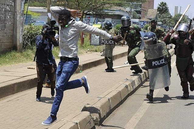 Des journalistes brutalisés: Encore des dérives  policières