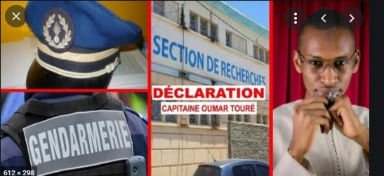 Radié des cadres de la gendarmerie: Le capitaine Omar Touré projette d'attaquer le décret de Macky Sall