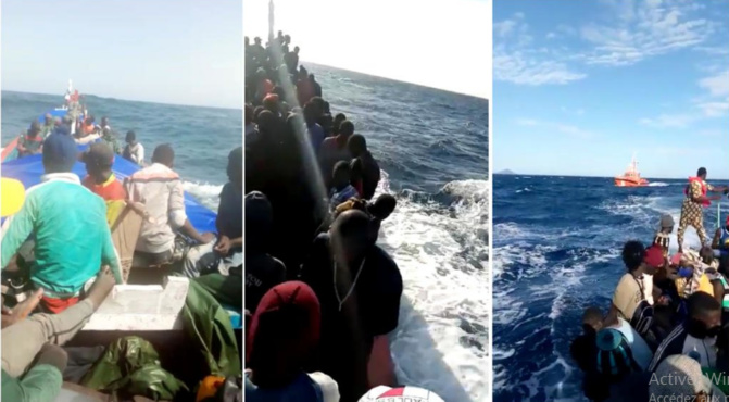 Emigration clandestine vers l'Espagne: 2 naufrages en mer en moins de 48 heures avec 42 morts