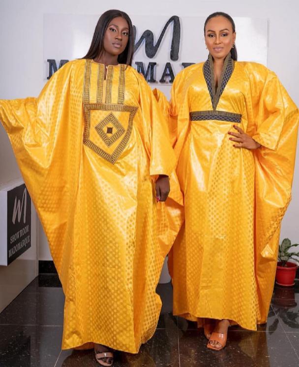 Mode Tabaski: Les actrices, Big Mama, Faty, Dalanda et Ya Awa Rassoul dans des tenues à vous couper le souffle (Photos)