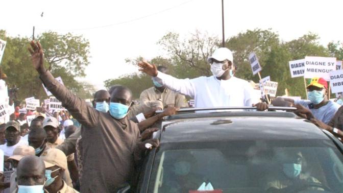 Accueil de Macky Sall à Thiès: Diagne Sy Mbengue fait le.plein et se singularise dans la mobilisation