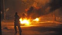 Plus de 24 heures sans électricité : Les jeunes de Yoff chauffent la devanture de l'Aéroport Léopold Sédar Senghor