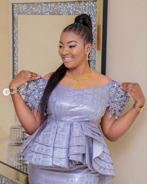 Mode Tabaski: les dernières tendances avec l'actrice Adjara Faye (Photos)