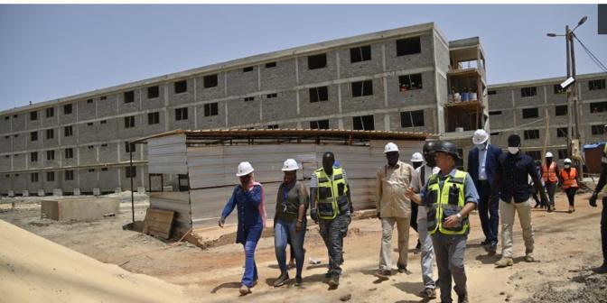 Université Amadou Makhtar Mbow : 90% du gros œuvre bouclés