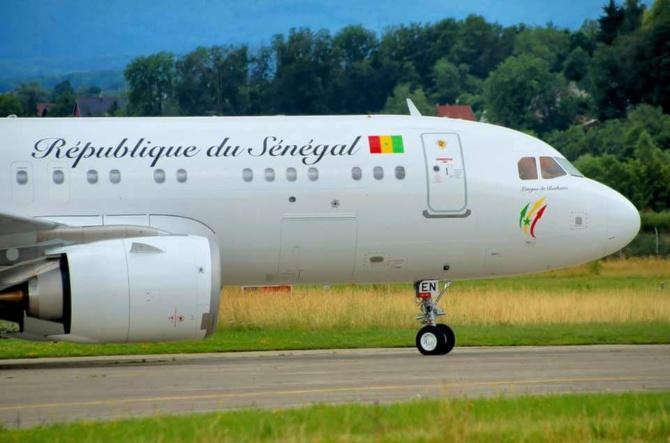 Actualité : Le nouvel avion présidentiel de l'Etat du Sénégal baptisé « Langue de Barbarie »