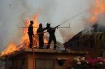 Incendie au domicile de l'imam de Médina Baye