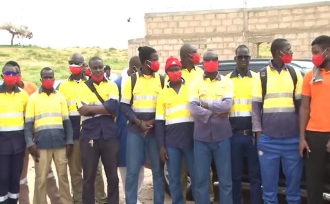 Mines et Géologie: Le ministre Oumar Sarr a échangé avec les travailleurs licenciés par GCO