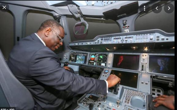 Nouvel avion présidentiel/ Pour son 1er vol: Macky Sall a choisi la Mauritanie