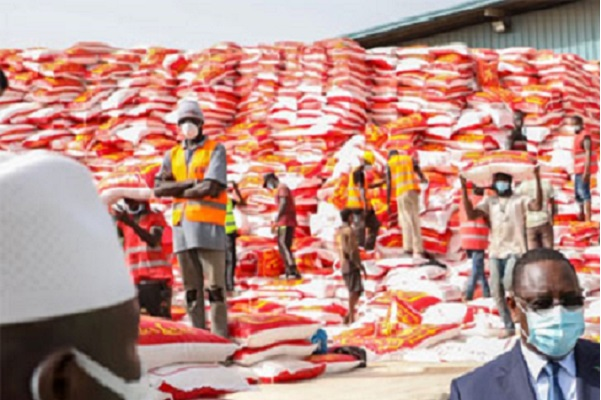 Denrées alimentaires pour la Tabaski: Les apéristes de Mbour au secours de familles démunies