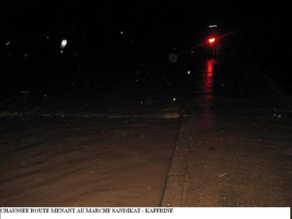 [Audi+Photos] Inondations à Kaffrine : Le maire Abdoulaye Wilane crie aux secours.