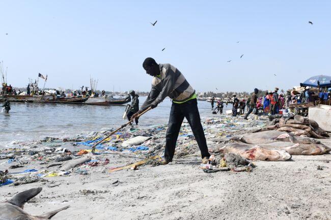 Hann / Gestion des déchets solides sur la plage: Une brigade de la propreté créée