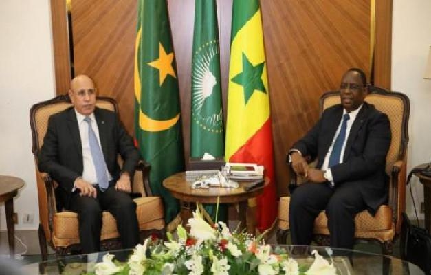 Lutte contre le terrorisme, trafic de drogue, d'armes… ; des sujets au cœur des échanges entre Macky et El-Ghazouani