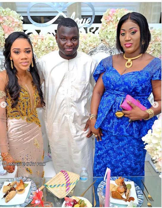 Carnet blanc: Sokhna Faty Thioune, la fille de feu Serigne Cheikh Béthio s'est mariée(Photos)