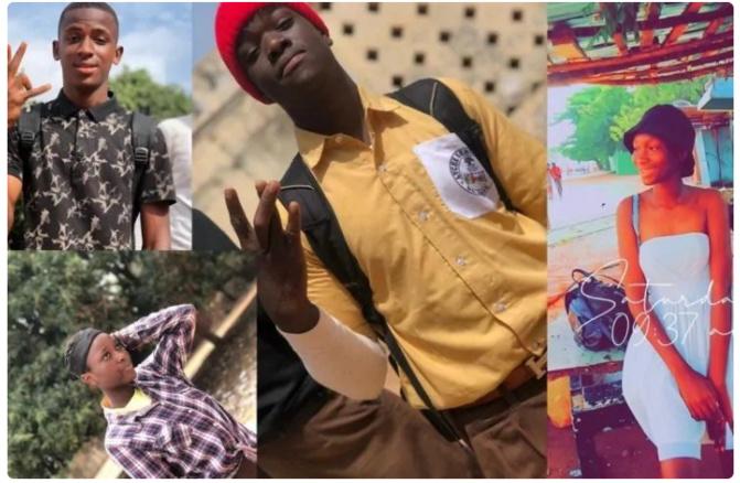 Lycée sénégalais de Banjul: Voici les images des 4 élèves décédés