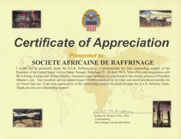 Visite de Obama à Dakar: Les Américains ont apprécié le professionnalisme de la Sar