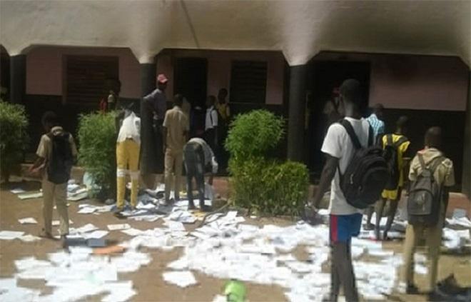 Vandalisme au lycée de Sindia- Mbour: «C'est l'œuvre de certains élèves qui n'ont pas eu de bonnes notes»