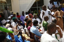 Assemblée générale des travailleurs de l'hôpital Abass Ndao contre des licenciements