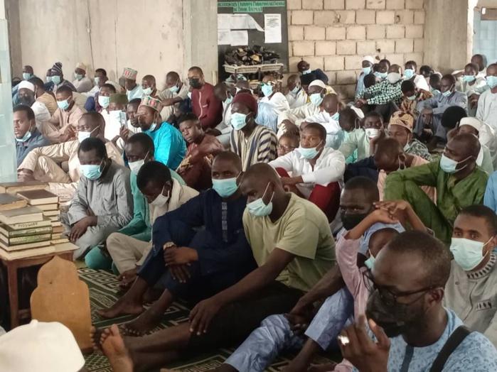 Tabaski 2021 à l'UCAD: Les images de la prière