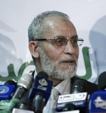 Égypte : Le chef suprême ses frères musulmans arrêté