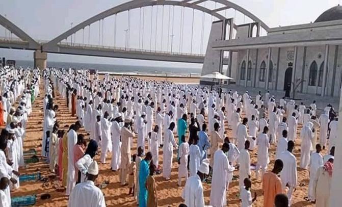 Prière de la Tabaski à la mosquée Layène: Le fils du khalife des Layènes salue le respect strict des mesures-barrières