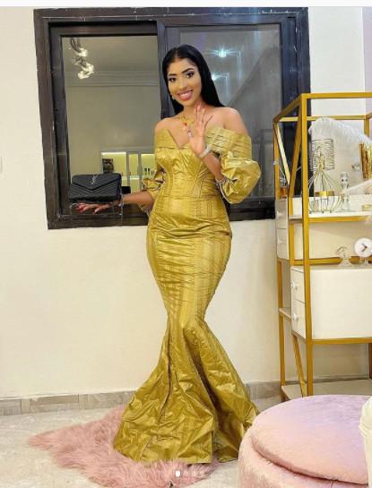 Tabaski 2021: Amy Léa de la série Karma s'impose avec sa belle tenue (Photos)