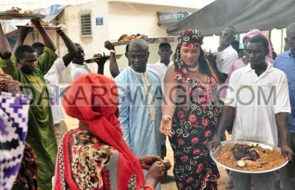 Miss Ndiaye la deuxième femme du promoteur Aziz Ndiaye, un vrai cordon bleu